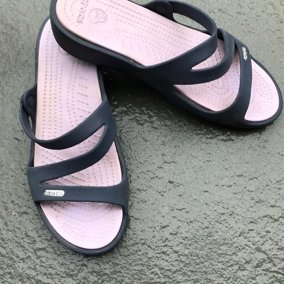 9d3d7af4cd97 CROCS Shoes - Crocs Swiftwater Sandals -very nice condition sz 8